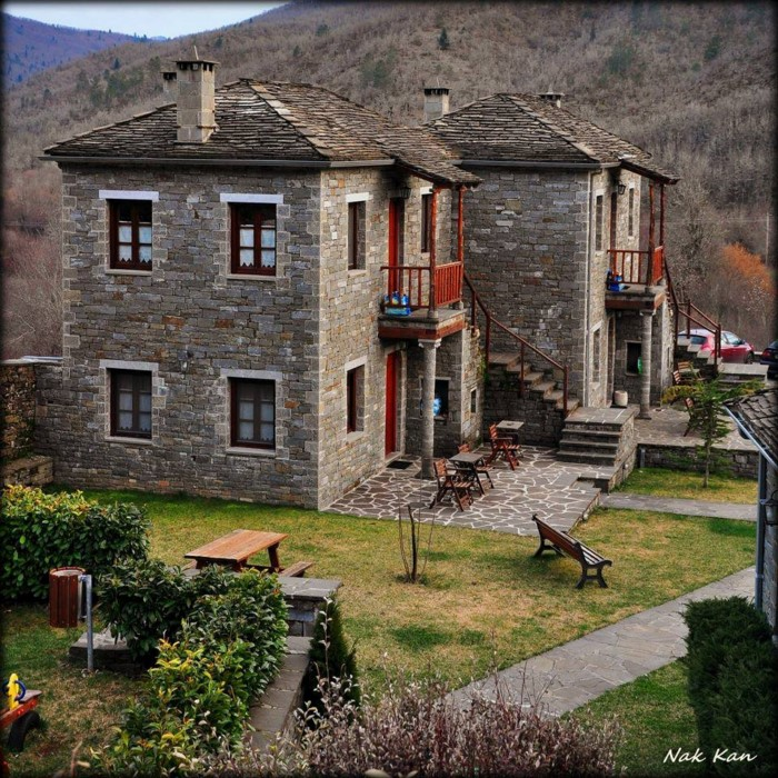 dream houses in the mountains of Greece14