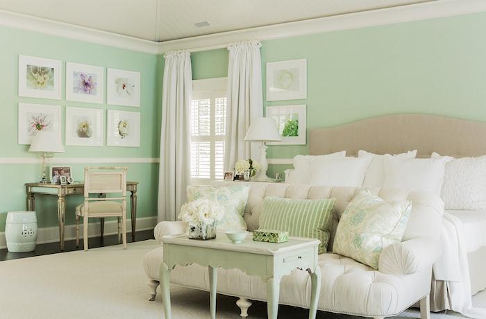 mint color decoration (8)
