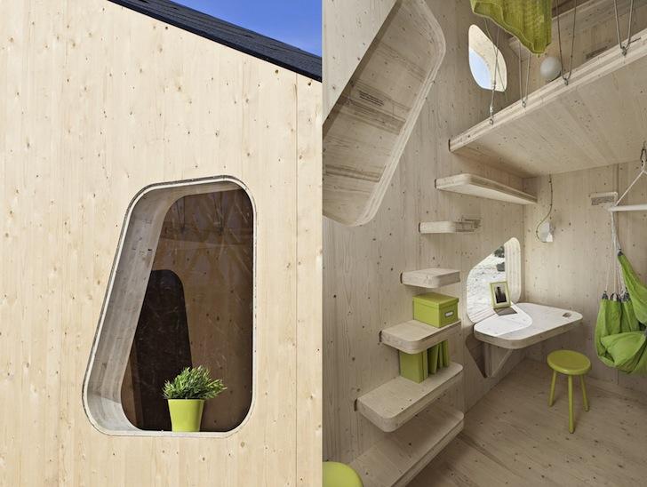 tiny size student house2