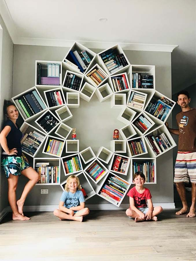 DIY bookcase7