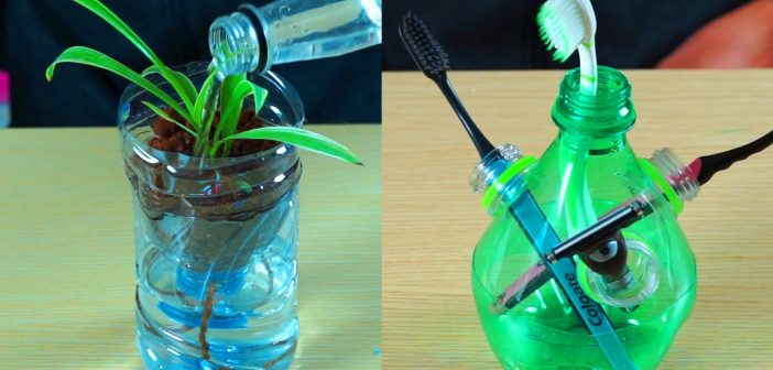 Reuse plastic bottles images for Ways to recycle plastic bottles