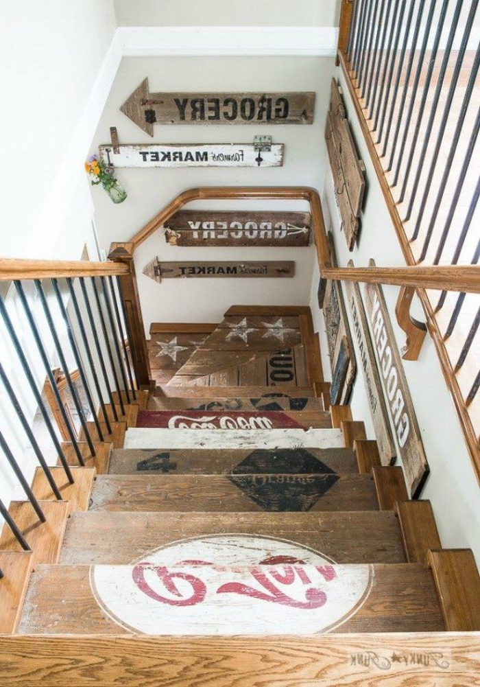 creative ideas to update the stairs of your interior
