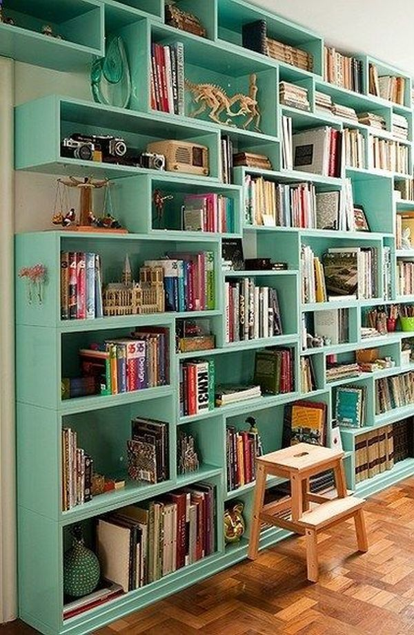 practical and unique ideas to organize books13