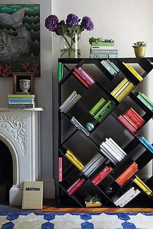 practical and unique ideas to organize books9