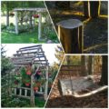 DIY projects for the garden made of wood (1)