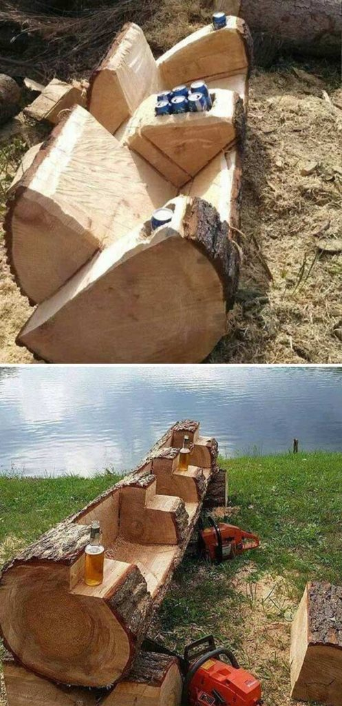 DIY projects for the garden made of wood (10)