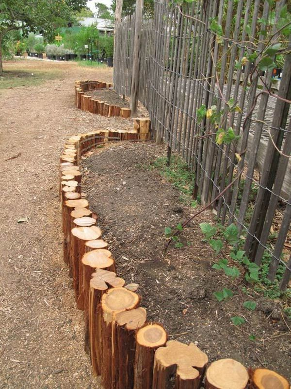 DIY projects for the garden made of wood (12)