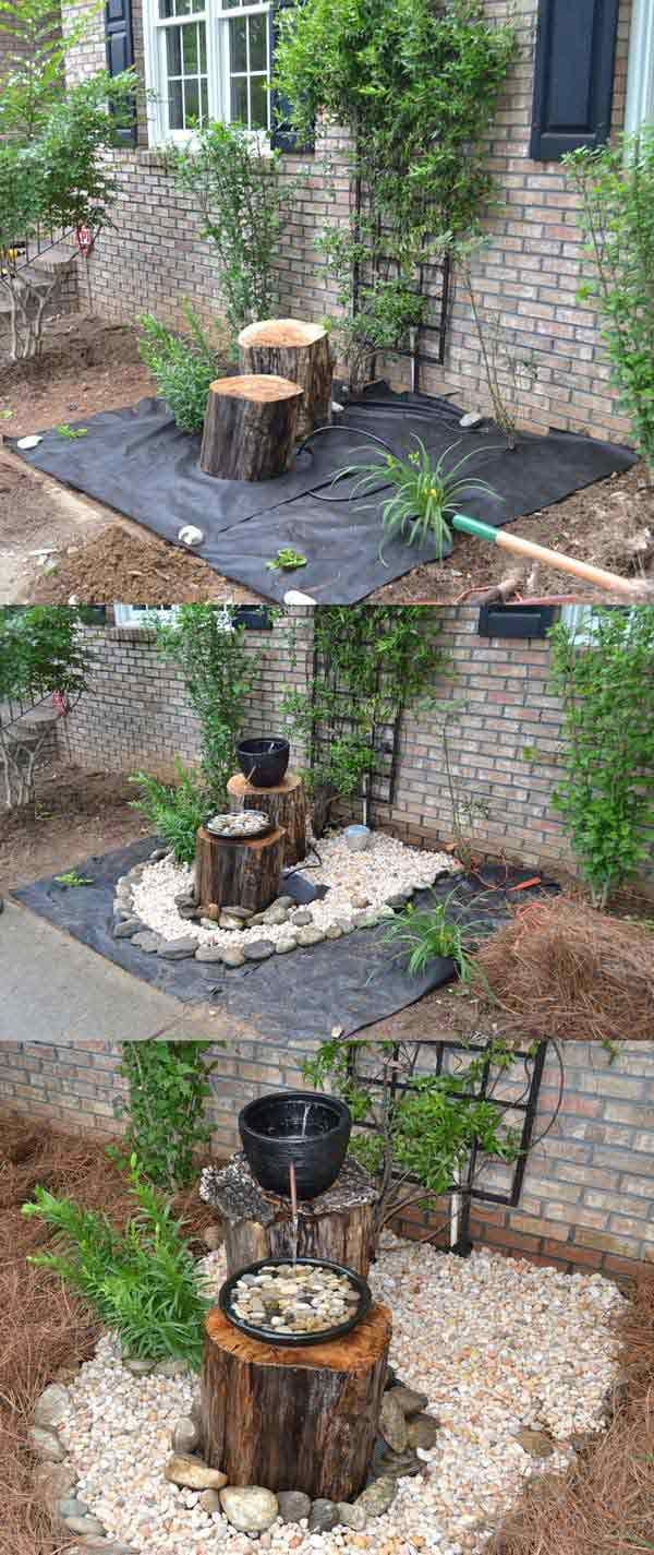DIY projects for the garden made of wood (14)