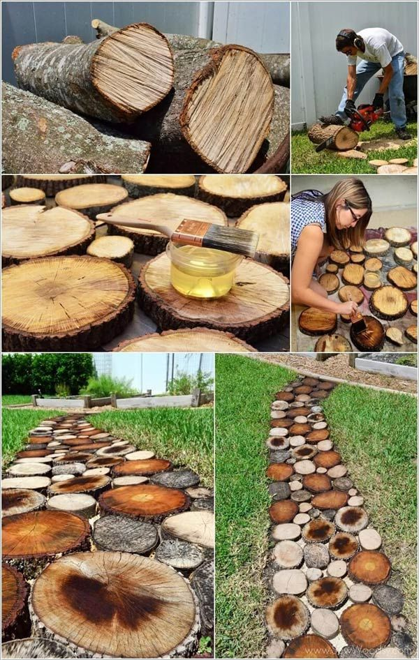 DIY projects for the garden made of wood (16)