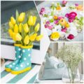ideas to decorate your home with flowers