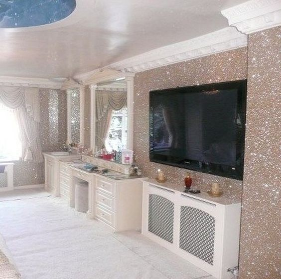 make a gold dust wall5