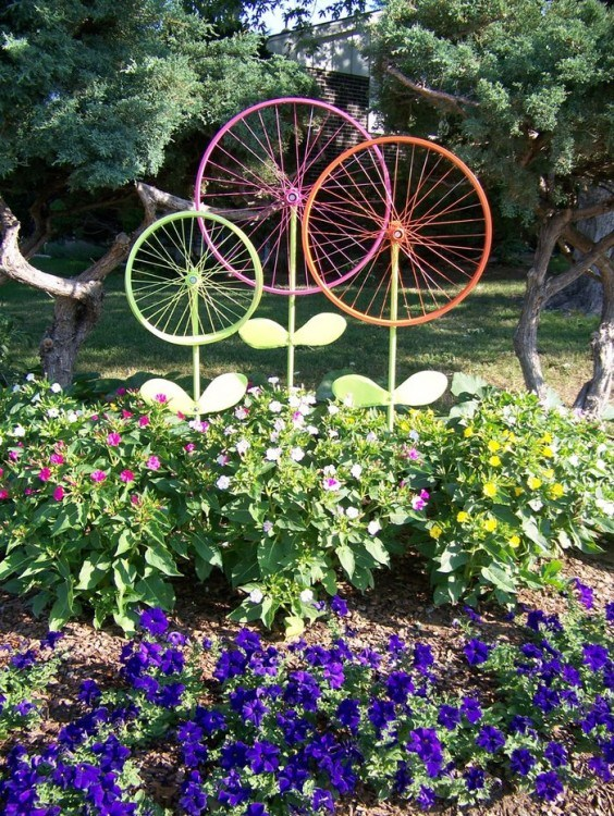 DIY reciclando rodas de bicicleta18