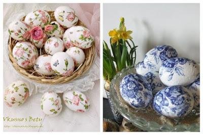 Decoupage in Easter eggs6