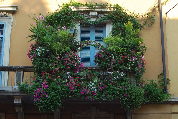 mydesiredhome - blooming balconies ideas33
