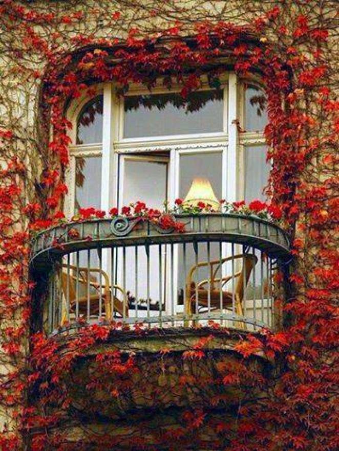 mydesiredhome - blooming balconies ideas36