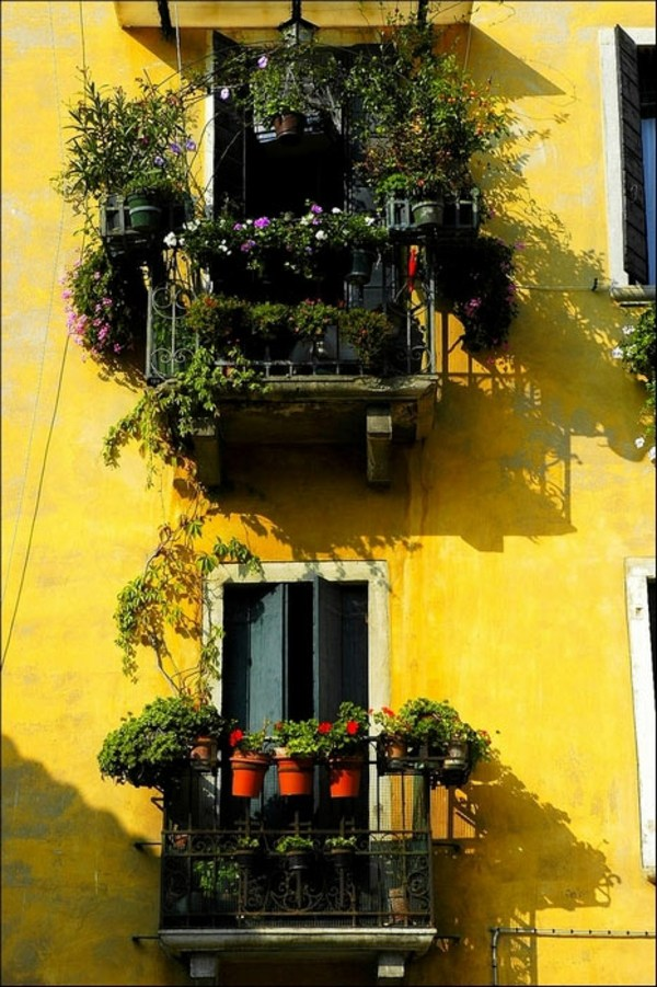 mydesiredhome - blooming balconies ideas37