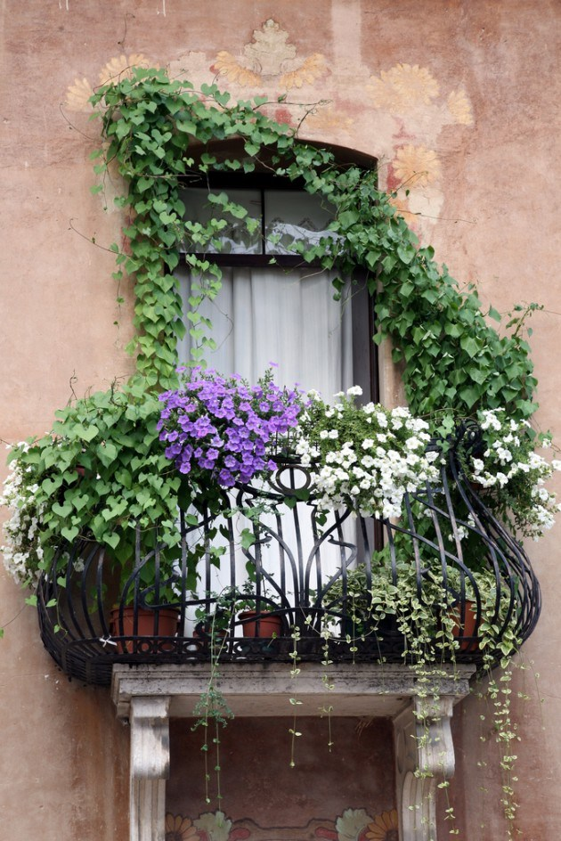 mydesiredhome - blooming balconies ideas45