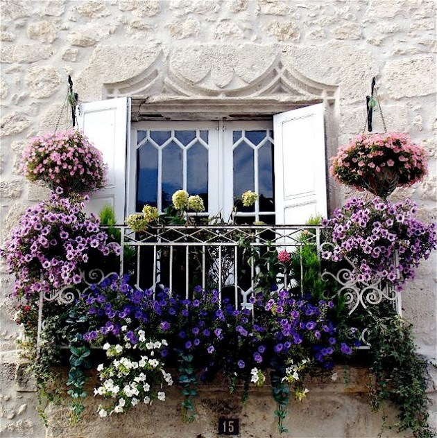 mydesiredhome - blooming balconies ideas46