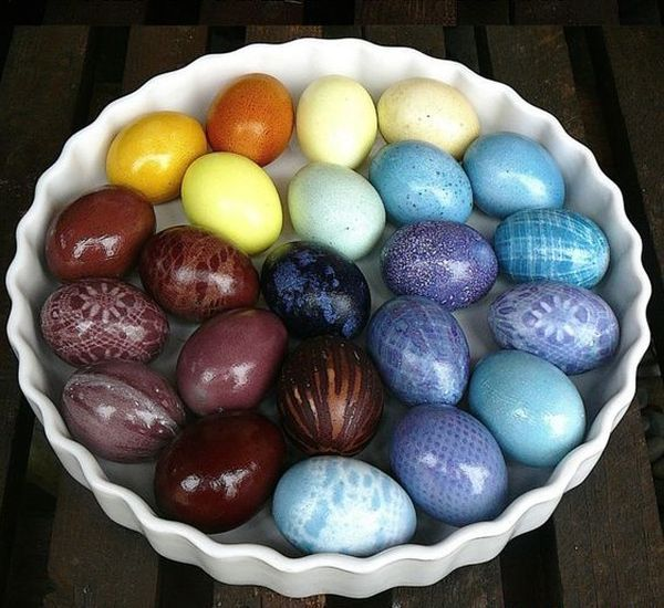 paint the Easter eggs with ecological methods (7)
