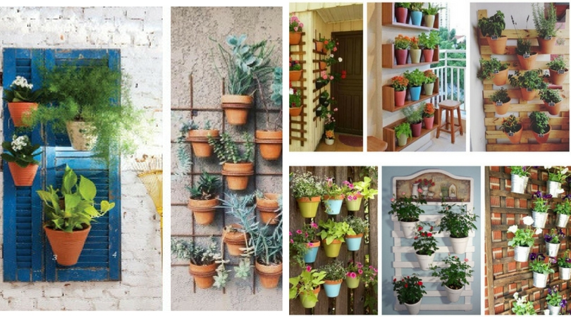 Insping ways to hang pots on walls