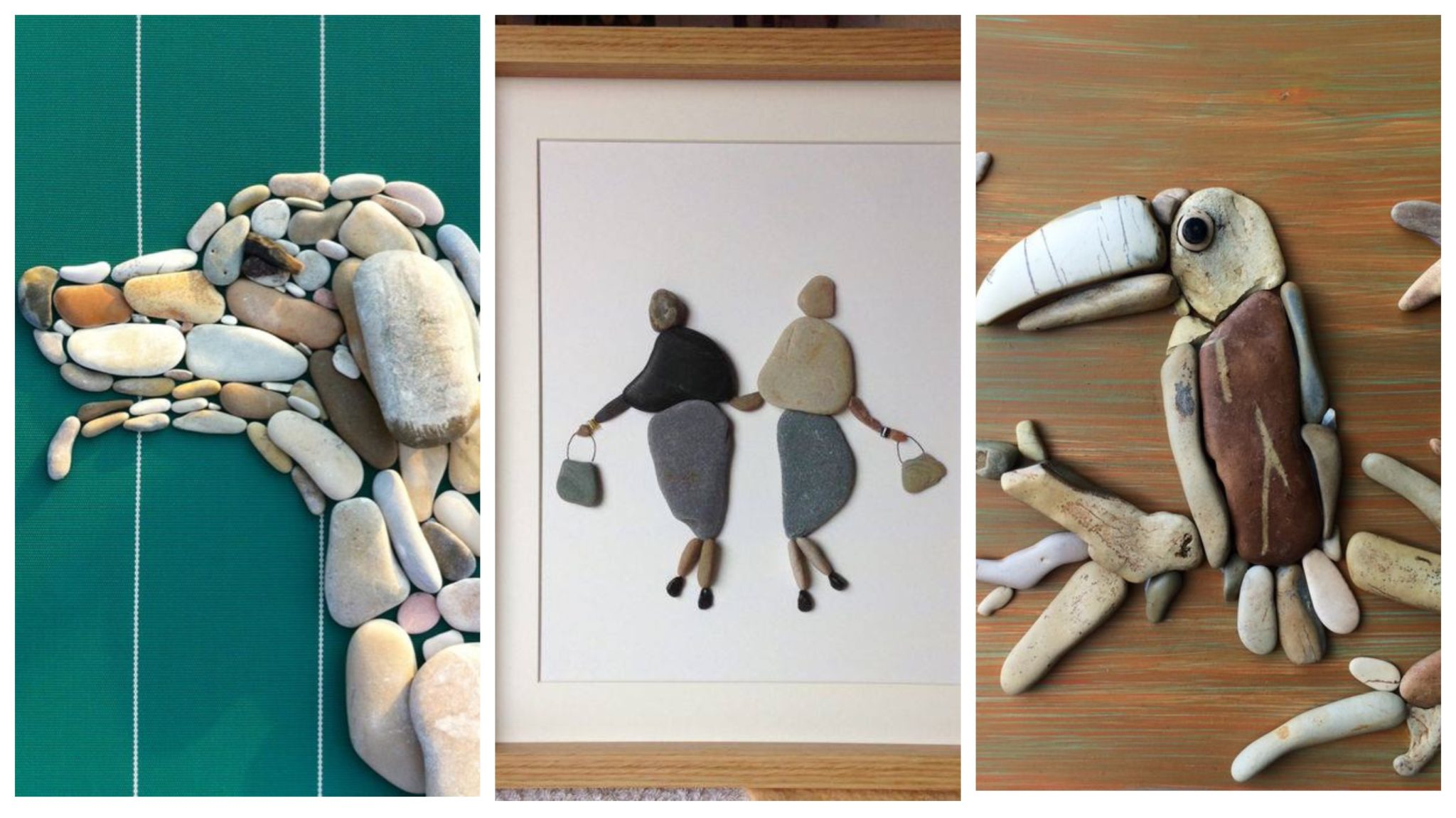 Pebbles: 25 ideas for creative art inspiration | My desired home