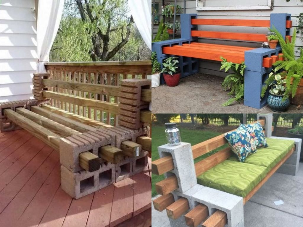 Create With Cement Blocks And Wood U2013 10 Stunning Ideas To Inspire You