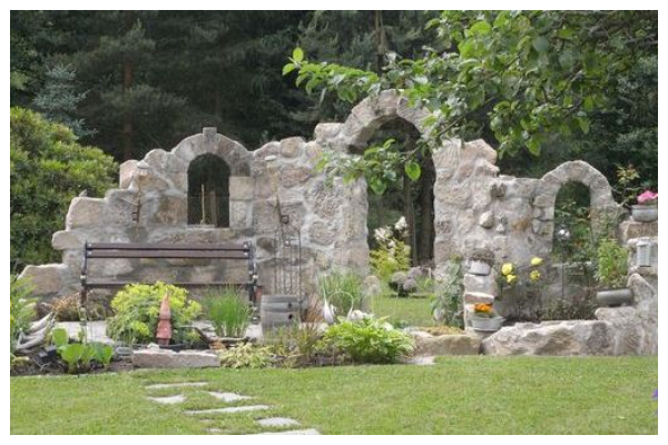 ideas with stone gazebo without a roof12