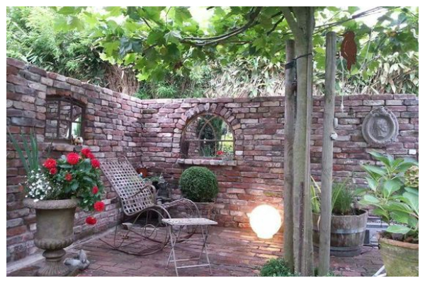 ideas with stone gazebo without a roof13