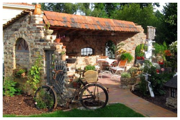 ideas with stone gazebo without a roof5