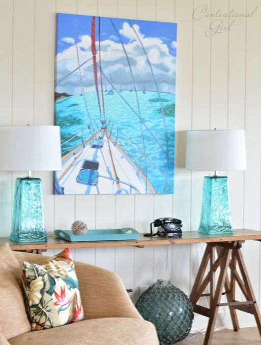 Summer Ideas - crafts for the walls20