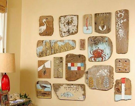 Summer Ideas - crafts for the walls6