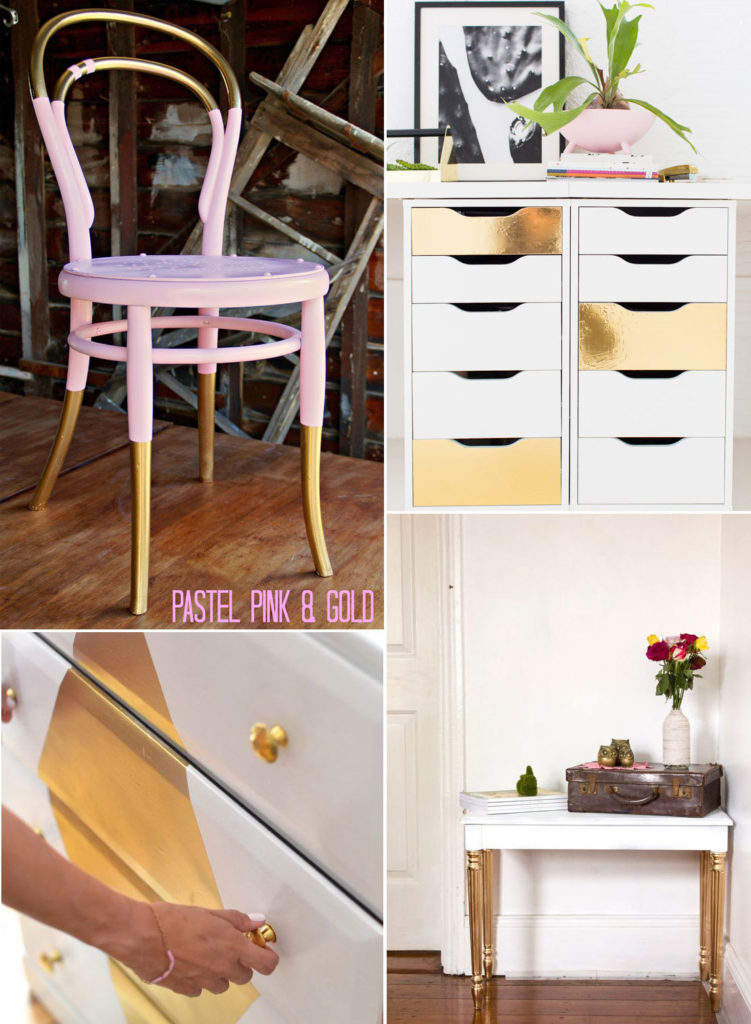 furniture and objects makeover with spray4