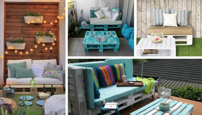Balcony pallet Sofa ideas (1)