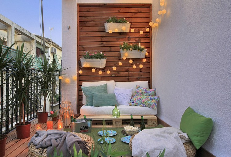 Balcony pallet Sofa ideas1