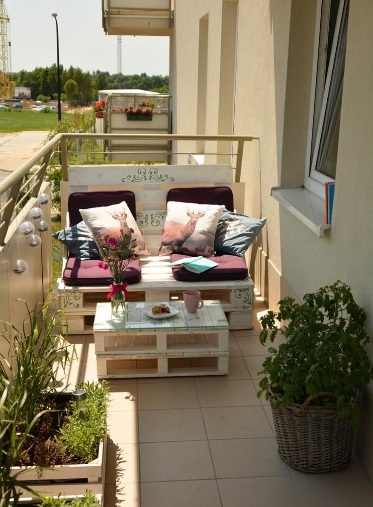 Balcony pallet Sofa ideas14