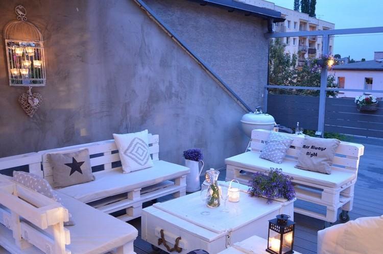 Balcony pallet Sofa ideas24