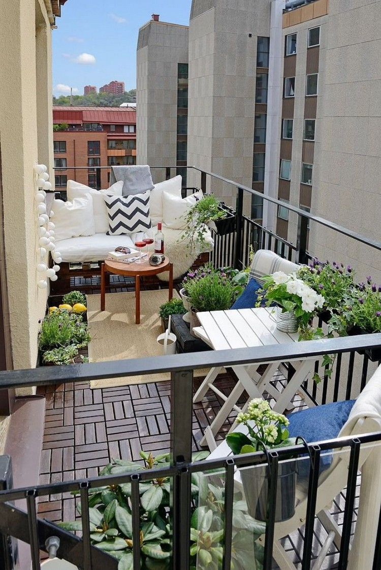 Balcony pallet Sofa ideas6