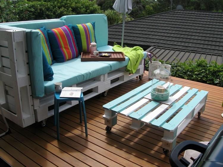 Balcony pallet Sofa ideas8