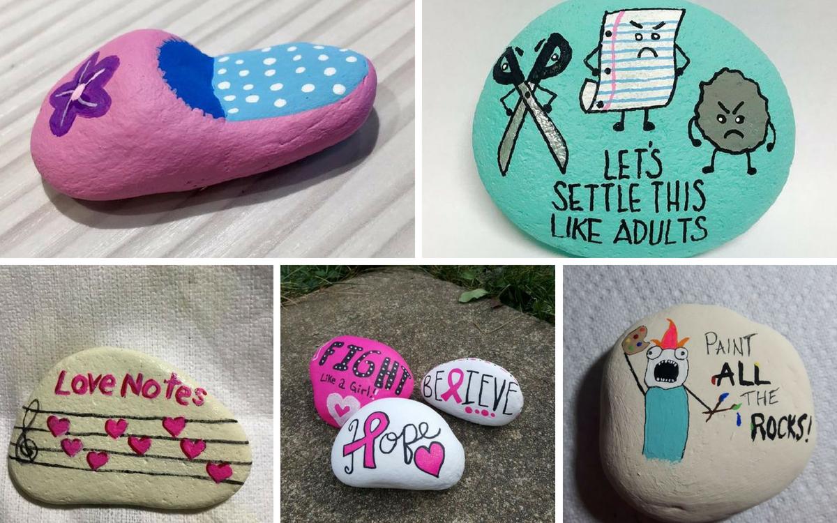 DIY rock painting ideas2