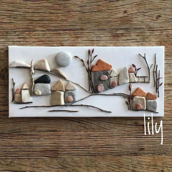 DIY rock painting ideas33