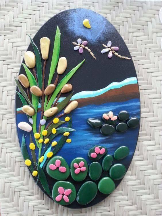 DIY rock painting ideas36