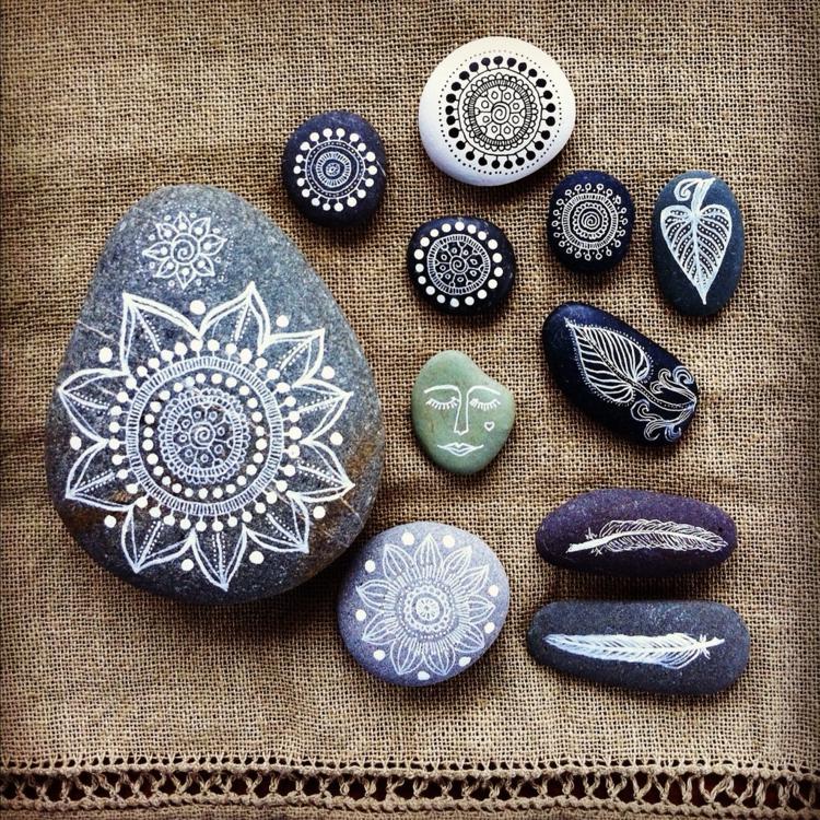 DIY rock painting13