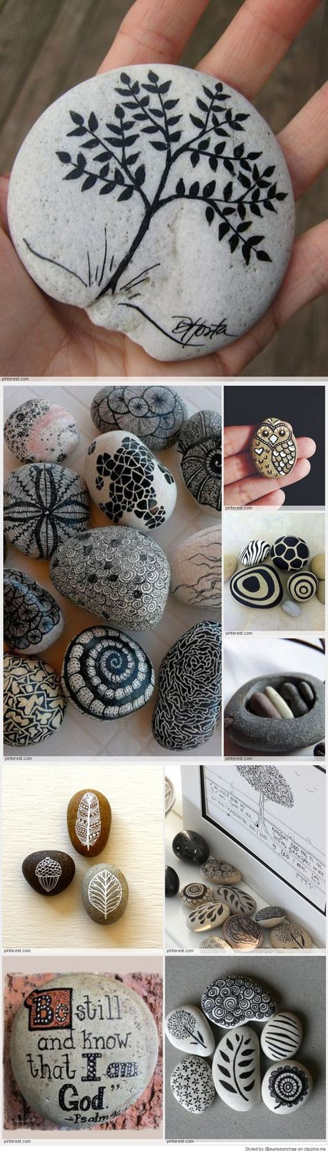 diy rock painting ideas9