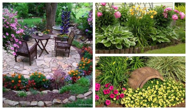 Wonderful flowerbed ideas for your garden