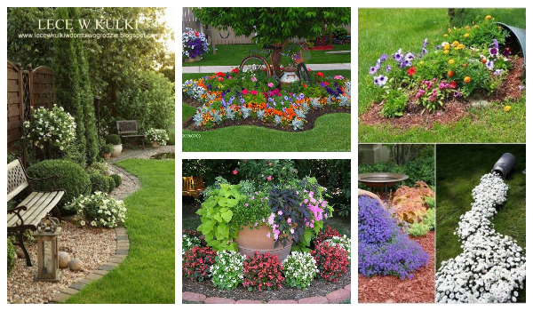 flowerbed ideas for your garden13