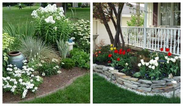 flowerbed ideas for your garden7