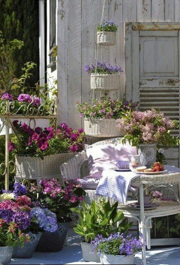 fantastic garden arrangement ideas with flowers for the summer