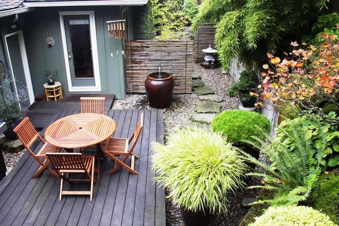 Gardening Ideas On Pinterest Small Gardens Rooftop Patio Intended Small Garden Ideas Pinterest - Bvira.com