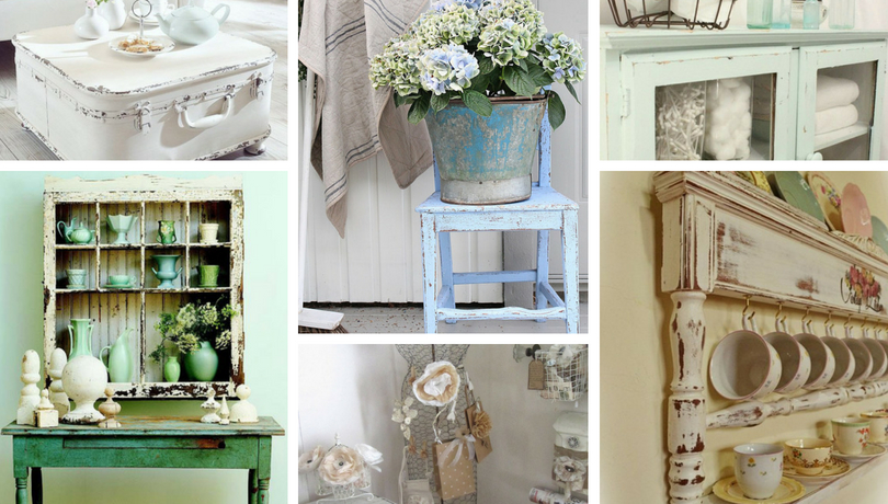Charming Storing and Decorating DIY Ideas in Vintage Style