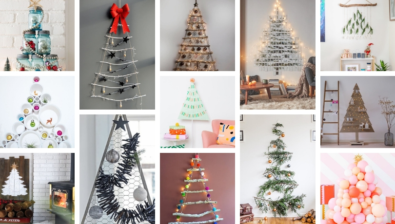 More than 100 inspiration for an original diy and green Christmas tree ideas that looks like no other